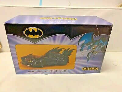 Batman Batmobile Cookie Jar Vandor Limited Edition # 1177  Of 3600  N I B  • 71.64£