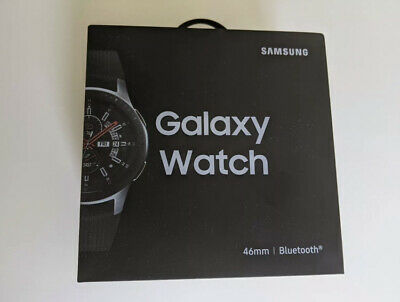 AU206.80 • Buy Samsung Galaxy Watch Smartwatch 46mm Stainless Steel - Silver (SHIPS TODAY) ✅