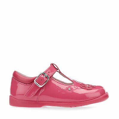 £14.99 • Buy Start-Rite Sunflower, Bright Pink Patent Girls T-bar Buckle First Walking Shoes