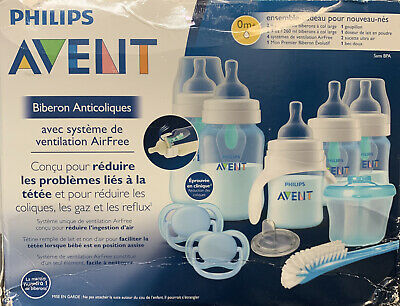 AU49 • Buy Philips Avent Anti-colic Baby Bottle With AirFree Vent Beginner Gift Set Blue