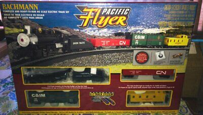 $ CDN101.26 • Buy BACHMANN HO Scale  Pacific Flyer  Freight Train Set Item 00692 New In Sealed Box