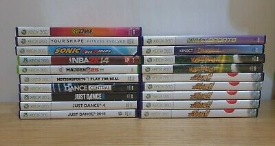 XBox 360 Kinect Games PAL Multi Listing Same Day Dispatch Free Postage  • 7.48£