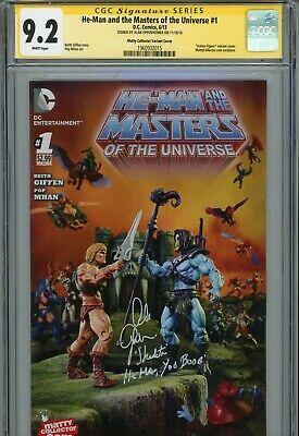 $1274.99 • Buy MASTERS OF THE UNIVERSE #1 Matty Collector Variant ALAN OPPENHEIMER (CGC SS 9.2)