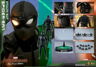 $ CDN255.14 • Buy Hot Toys Spider-Man Stealth Suit 1/6 Scale Figure Far From Home