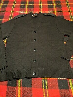 $14.70 • Buy USAF Wool Cardigan Military Equipment Corporation Of America - Made In UK Sz 44L