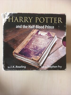 Harry Potter And The Half Blood Prince Audio Book CD Stephen Fry Jk Rowling • 29.99£