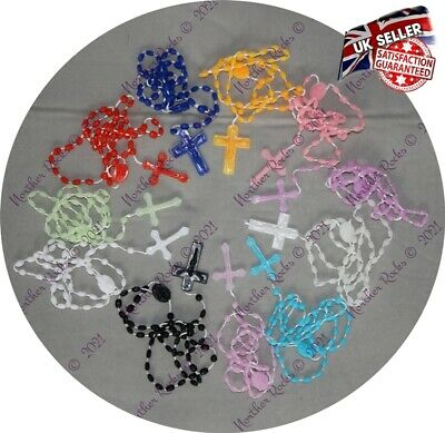 £0.99 • Buy Prison Safe Prison Approved Prison Issued Rosary Beads Plastic Easy Snap Durable
