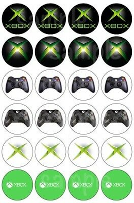 £6.50 • Buy XBox One Game Edible Cake Topper Wafer Icing Birthday Party Deco Muffin Cupcake