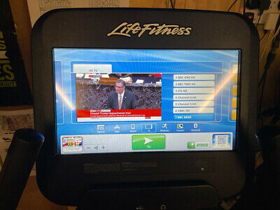 """£1995 • Buy Life Fitness 95C Discover SE Exercise Bike With Huge 15"""" Touchscreen Console Etc"""