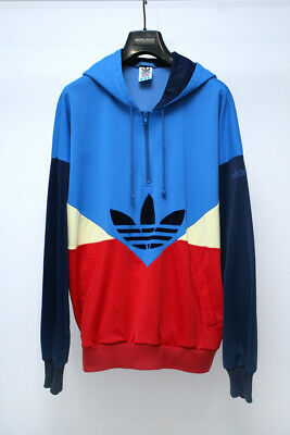 Adidas Vintage 80's Colorado Hoodie Retro Kapuzenpullover Jacket  West Germany  • 125£