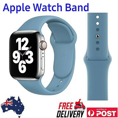 AU4.99 • Buy Apple Watch Band 38mm, 42mm. I-watch Sports Silicone Band. Series 6/5/4//3/2/1