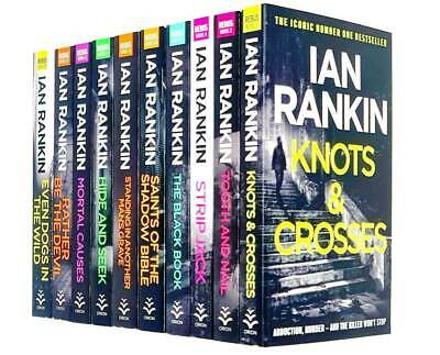 £21.96 • Buy Ian Rankin Inspector Rebus Series Collection 10 Books Set Knots And Crosses