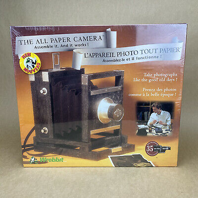 The All Paper Camera Assemble It & It Works By Wrebbit UNOPENED - NEW OLD STOCK • 26.30£