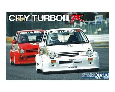 Aoshima 05912 Honda Aa City Turbo '85 1:24 Plastic Model Car Kit • 25.19£