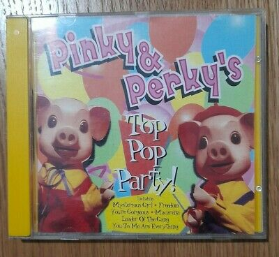 PINKY & PERKY - Top Pop Party CD 7243 1997 Collectable • 15£