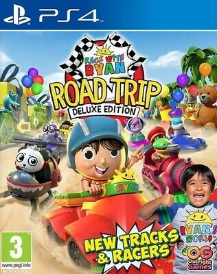 AU45.06 • Buy Race With Ryan (PS4) IN STOCK New Game GIFT IDEA OFFICIAL Kids Childrens Fun