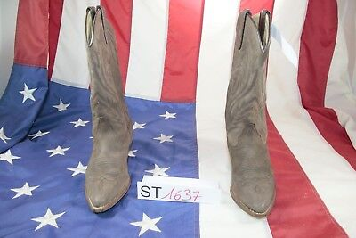 Boots Sancho (Cod.ST1637) Used N.38 Leather Woman Cowboy Country Vintage • 50.81£