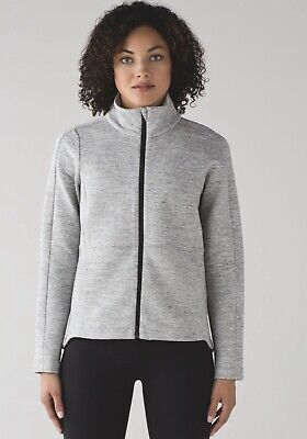 $ CDN95 • Buy Lululemon GOING PLACES JACKET Heathered Space Dyed Gray Sz 12