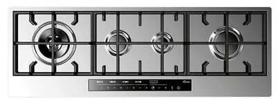 £689 • Buy Baumatic BHG112S 112cm Premium-Line Touch Control Gas Hob - Stainless Steel