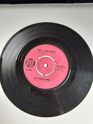 £2.50 • Buy The Honeycombs Have I The Right Please Don't Pretend Again 60s Pop Vinyl 7