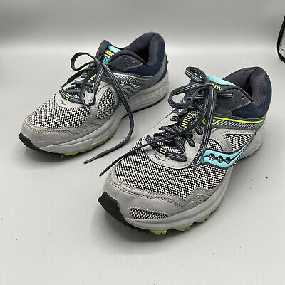 $ CDN32.17 • Buy Womens Saucony Grid Cohesion 10 Gray Mint Running Shoes Size 8w