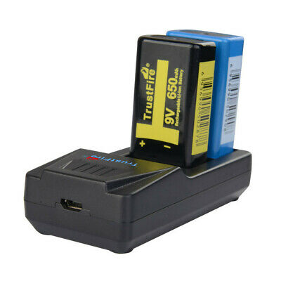 AU14.91 • Buy  Li-ion Lithium Rechargeable 9V BCO1 80/160ma Battery Fast Quick Battery Charger