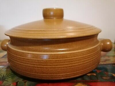 Denby / Langley Canterbury Vintage 4 Pt Lidded Casserole Dish Retro • 9.50£