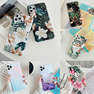 AU9.99 • Buy F Iphone 12 11 Pro Max 8 7 XS XR X Shockproof Flower Cute Girls Women Case Cover