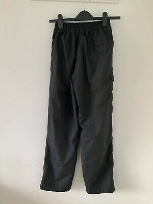 Peter Storm Black Waterproof Trousers Size 11 To 12 Kids • 4£
