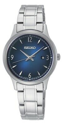 £89.99 • Buy Seiko Ladies Watch With Blue Dial And Silver Strap SXDG99P1