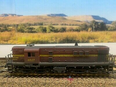 AU185 • Buy NSWGR 48 Class Locomotive (4827) Indian Red Paint Scheme Powerline HO Scale