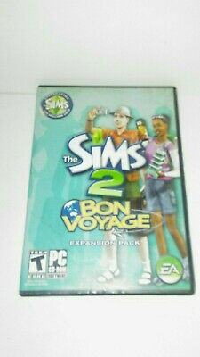 £7.31 • Buy The Sims 2 Bon Voyage Expansion Pack PC Video Game Complete (CIB)