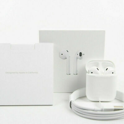 AU69.99 • Buy Apple AirPods With Wireless Charging Case 2nd Generation AU Post