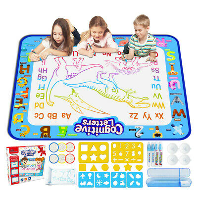 £14.50 • Buy Kids Toys Aqua Magic Drawing Doodle Mat Water Painting Pad Gift For Children
