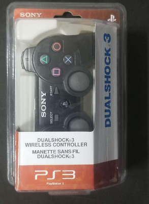 SONY PS3 Wireless Dualshock 3 Controller For Playstation 3 Black • 17.99£
