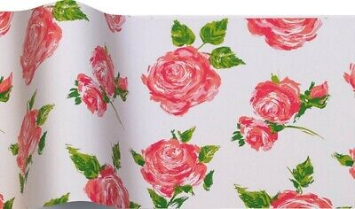 £1.69 • Buy Cottage Rose Flower Pretty Shabby Chic Vintage Tissue Paper Wrap Sheets 35x45cm