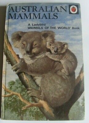 VINTAGE LADYBIRD Book Of Australian Mammals Early 1970s Displays 2'6 And 12½p  • 3.50£