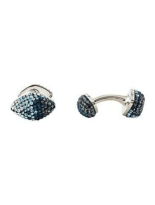 £50 • Buy ATELIER SWAROVSKI Moselle Cufflinks Core Collection Blue Degrade Crystal