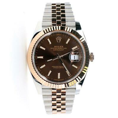 $ CDN19150.25 • Buy Rolex Datejust 41mm 2-Tone Rose Gold/Steel Jubilee Watch With Box/Papers/126331