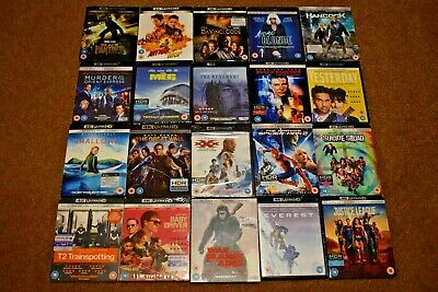 4K UHD Blu Ray DVD Collection. Good To New Condition. 500+ Listing B • 0.99£