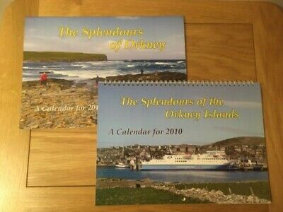 £9.99 • Buy 2 Orkney Picture Calendars, 2010 & 2016, Scrapbook, Collector, Collage, Crafts