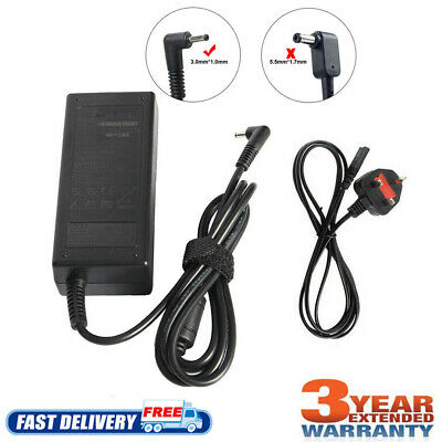£9.99 • Buy For Acer Aspire 3 A315-22 A315-34 Laptop Adapter AC Power Charger 45W