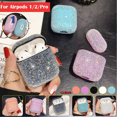 AU8.99 • Buy For Apple AirPods Case Protect Hard PC Cover Skin AirPod Earphone Cases Glitter