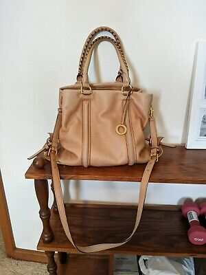 AU90 • Buy Oroton Brown Leather Handbag, Tote. Pretty Caramel Colour With Lots Of Room.