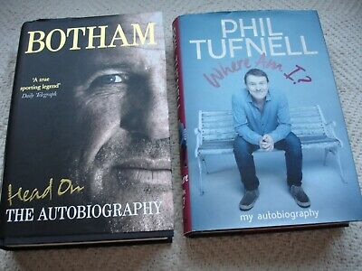 Phil Tufnell Where Am I ? Ian Botham Autobiography Good Used Books • 4.99£