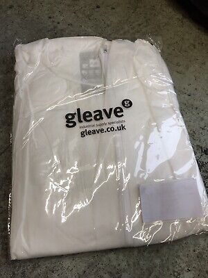 £4.25 • Buy Gleave Disposable Overalls With Hood XXL Type 5/6 PPE Painting Decorating
