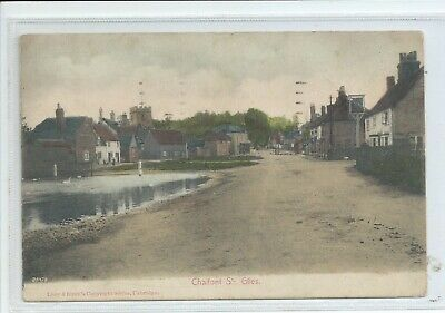 £4 • Buy Printed Postcard Of Chalfont St Giles Buckinghamshire Good Condition