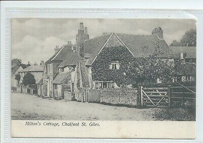 £4.50 • Buy Printed Postcard Of Miltons Cottage Chalfont St Giles Buckinghamshire Gc