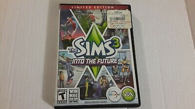 The Sims 3 Into The Future Expansion Pack EA PC MAC DVD ROM • 6.74£