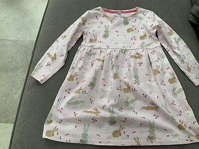 Blue Zoo (Debenhams)3/4 Girls Dress All Cotton,cute Bunny Print New • 4£